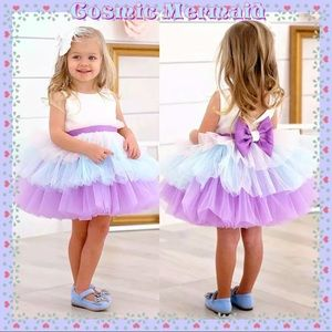 Other - 🆕💖Pastel Tutu Bow Back Flower Girl Party Dress💖